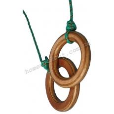 Гимнастические кольца (дерево)