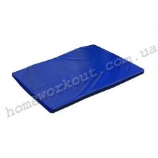 Мат гимнастический 100x70x4 (синий)