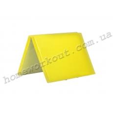 Мат-книжка 200x100x5 (желтый)