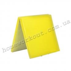 Мат-книжка 160x100x10 (желтый)