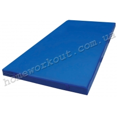 Мат гимнастический 200x100x10 (синий)
