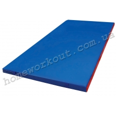 Мат гимнастический 200x100x5 (синий)