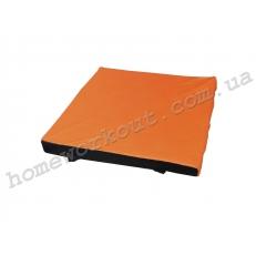 Мат гимнастический 100x100x10 (оранжевый)