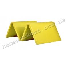 Мат-книжка 400x100x5 (желтый)