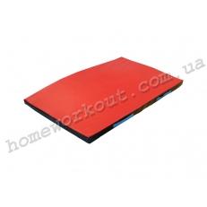 Мат гимнастический 100x70x4 (красный)