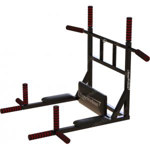 Комплекс турник-брусья 8в1 (черный)
